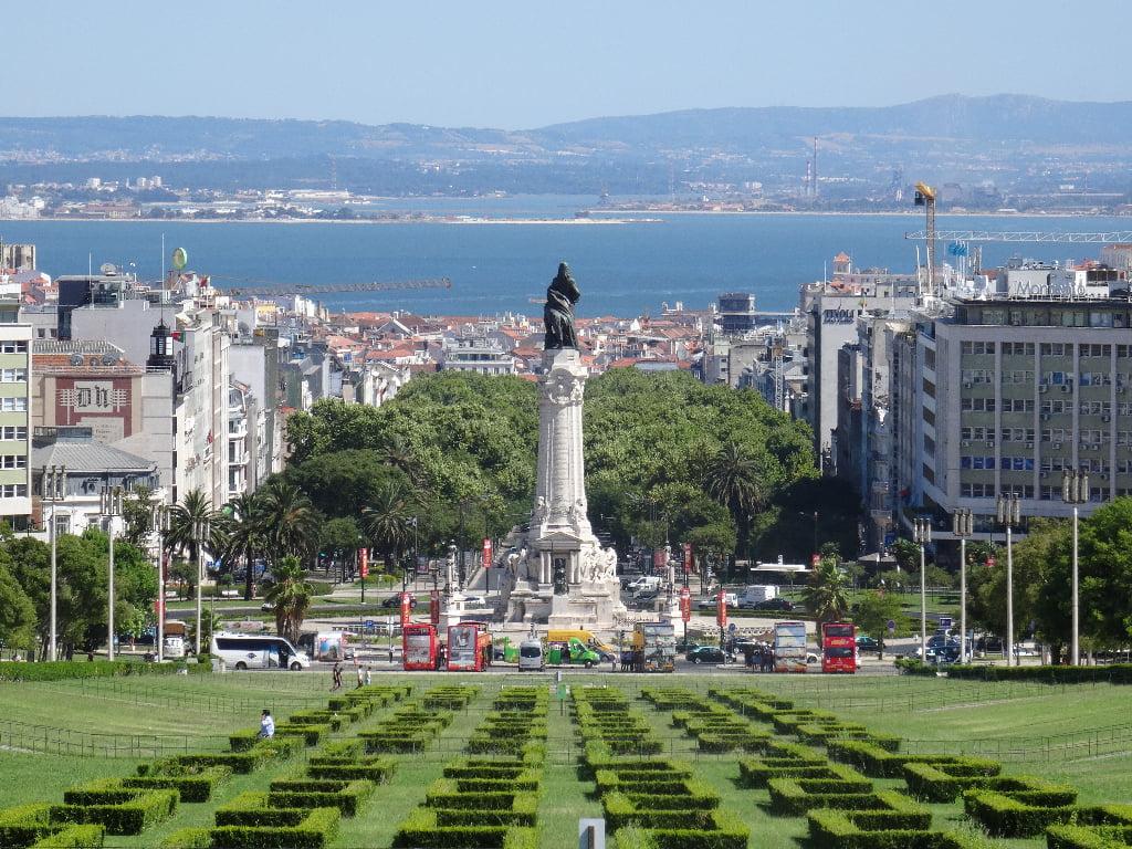 Uitzicht Lissabon