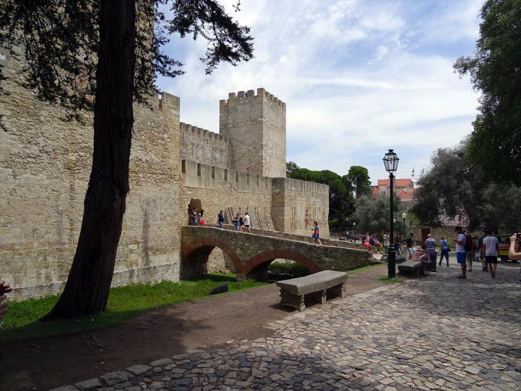 Castelo Sao Jorge - Lissabon