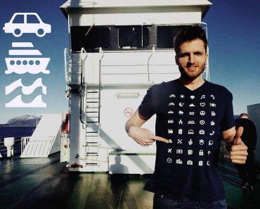 Iconspeak reis t-shirt