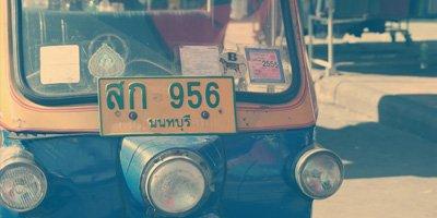 Reisschema 30 dagen alleen Thailand