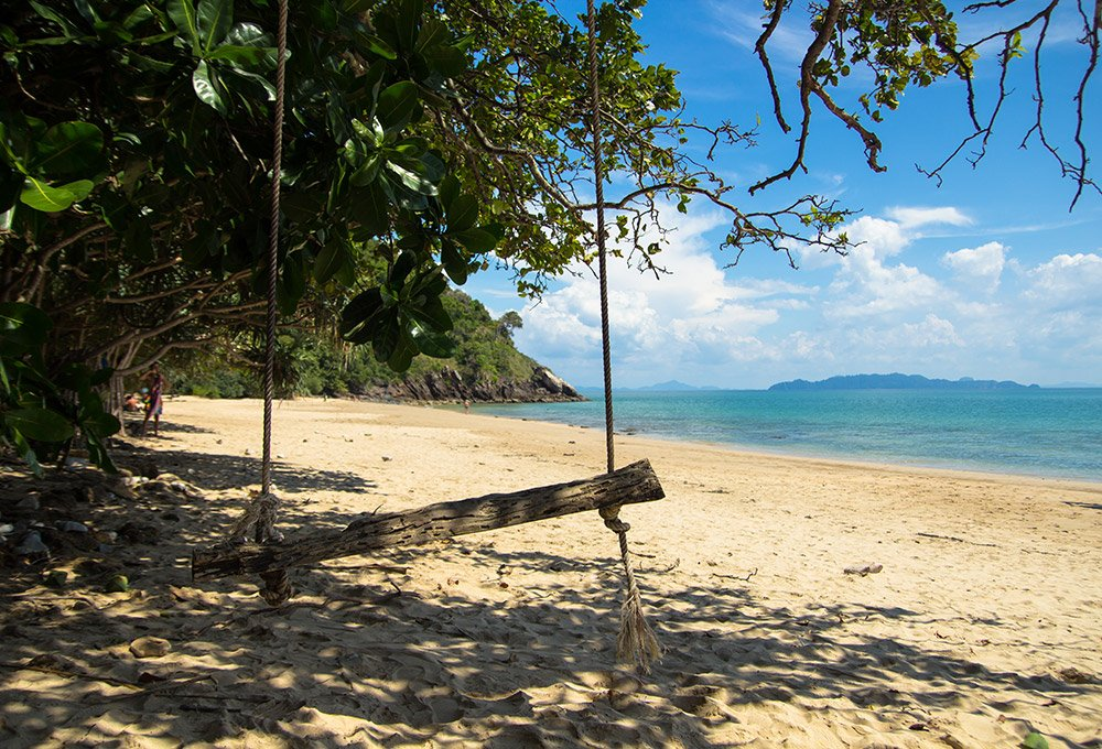 Koh Lanta national park beach