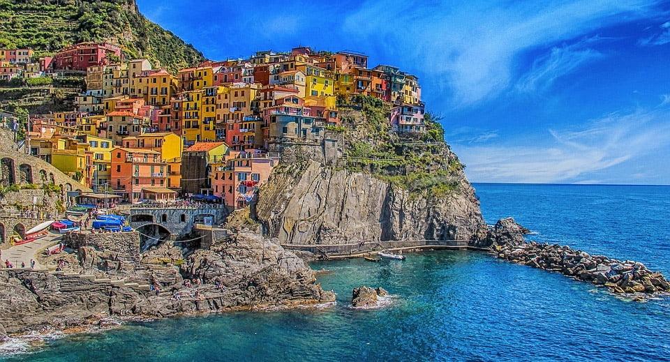 Cinque Terre in Italie