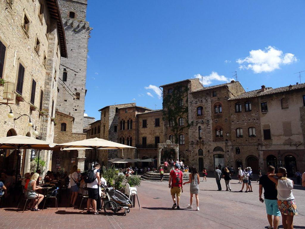 San Gimignano Plein
