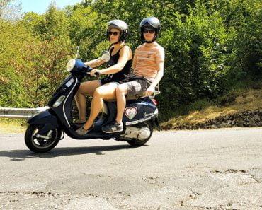 The Vespa trip Toscane