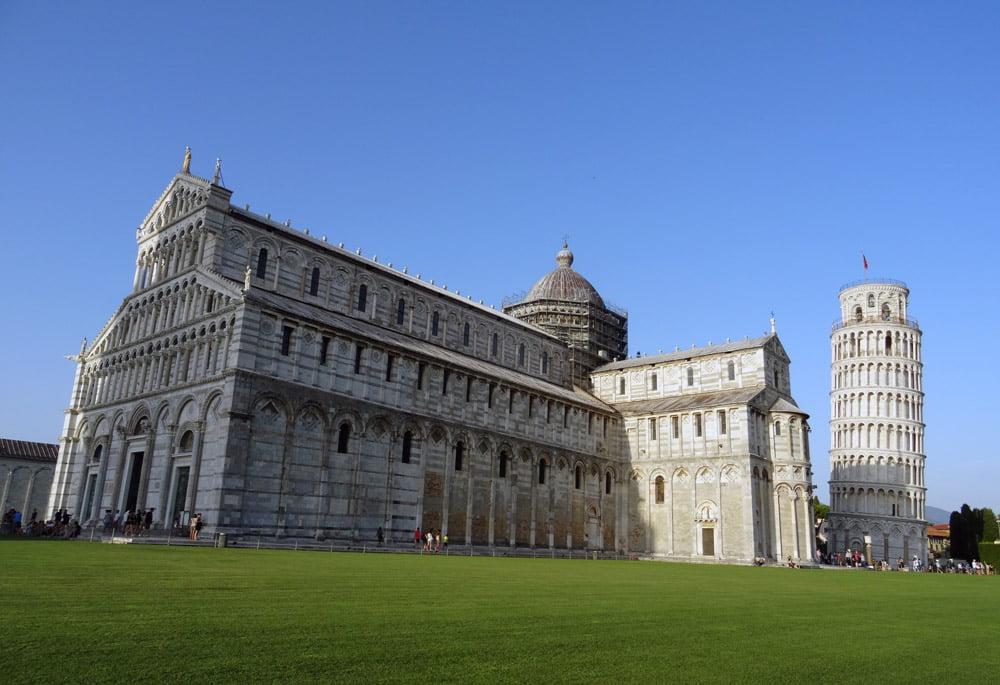 Toren van Pisa - The Vespa Trip