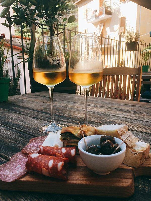 Wijntje in Cinque Terre