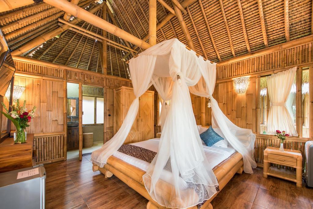 slaapkamer Ubud private villa