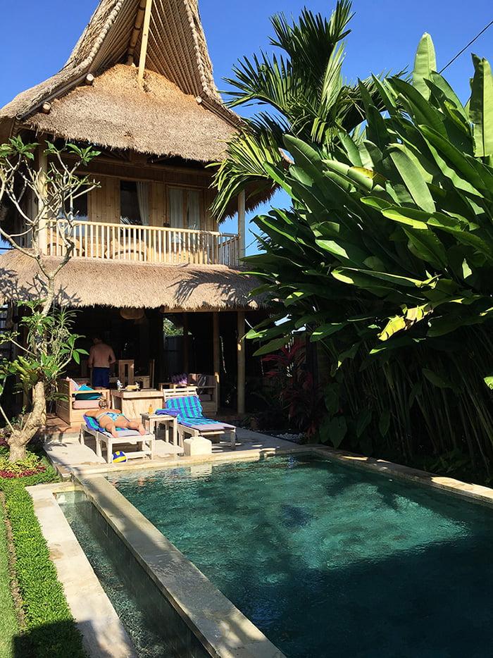 Privé villa Ubud - Bamboo