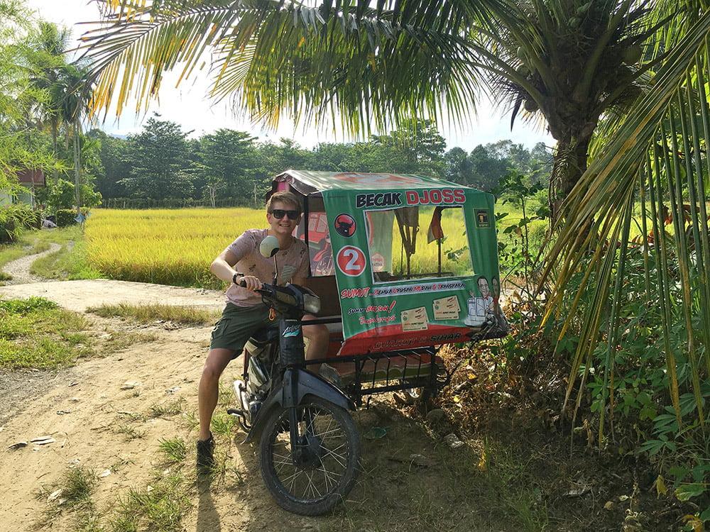 Becak - Indonesië